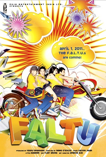 faltu poster Upcoming Hindi Movies of 2011