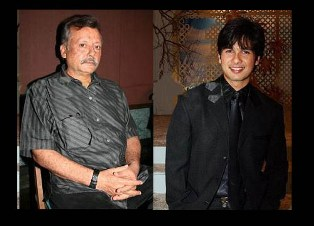 Pankaj Shahid copy Pankaj Kapur makes Directorial Debut with son Shahid
