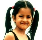katrina kaif as a child 150x141 Katrina Kaif – From Demure Supermodel to a Sexy Bollywood Superstar!