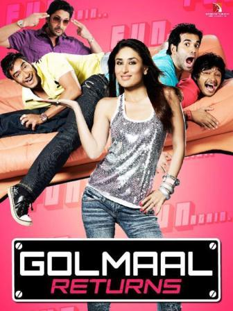 golmaal 3 Golmaal 3   Makes Rohit Shetty A Successful Director Of  The First Indian Trilogy