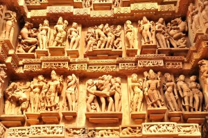 khajurao temples 300x199 Sensuality in India – The 10 Hottest of Bikini Babes of Bollywood
