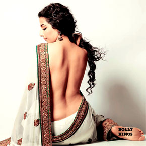 vidya balan backless the dirty picture Vidya Balan   The Amazing Changeover From Hot to Dirty in 16 Years