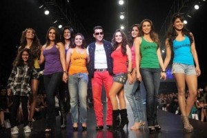 salman khan being human actress walk ramp 300x200 Most Philanthropic Bollywood stars