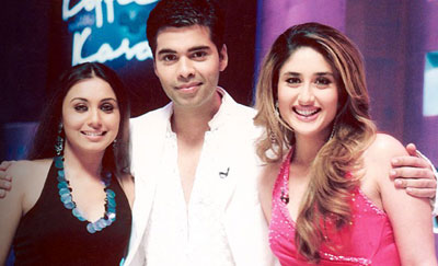 rani kareena karan Koffee With Karan  Karismatic And Kool