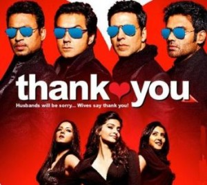Thank you Akshay Kumar 300x267 Thank You   Watch the Theatrical Trailer of Akshay Kumars Next