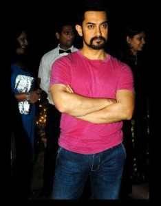 aamir new look 234x300 Aamir turns into a villain – DHOOM 3 shooting starts soon.