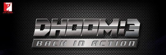 dhoom 3 logo Aamir turns into a villain – DHOOM 3 shooting starts soon.