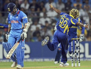 malinga 300x229 The World Cup Final Was Like a Bollywood Film   Go INDIA GO!