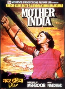 Mother India poster 221x300 Bollywood and the Celebration of Motherhood