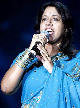kavita krishnamurthy Top Five Female Singers in Bollywood in 2011