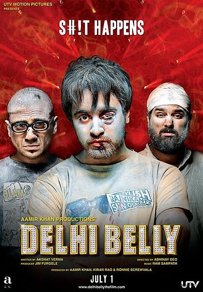 416px Delhi belly poster Delhi Belly – Movie Review