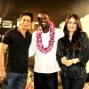 akon and srk in raone