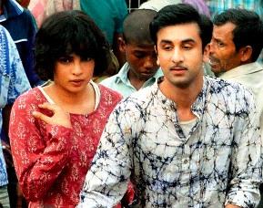 Priyanka Chopra's and Ranbir Kapoor's Look in Barfee 2012