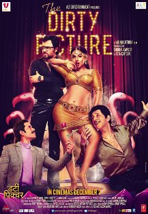 dirty picture poster The Dirty Picture Movie Preview – Vidya Balan the Dirty Seductress!