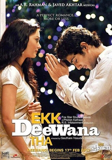Ek Deewana Tha poster Ek Deewana Tha   Prateik Babbar and Amy Jackson in Upcoming Hindi Film