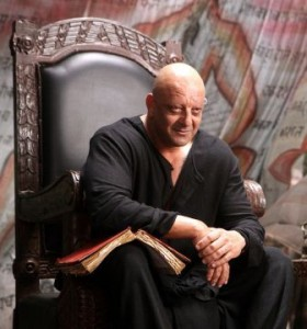 sanjay dutt in agneepath 280x300 Agneepath Movie Review   Deadly, Illogical and packed with Bollywoodism